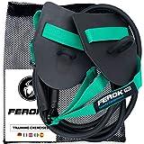 FEROK PRO - Zugseil Schwimmen Paddles - Fitness Widerstandsband mit Seilen und Handpaddles - Ideal für das Heimkörpertraining - Version Medium