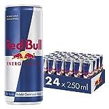 Red Bull Energy Drink Dosen Getränke 24er Palette, EINWEG (24 x 250 ml)