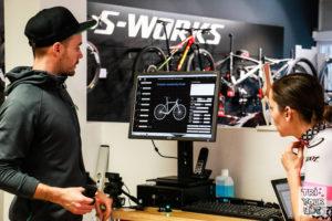 Bikefitting Technik