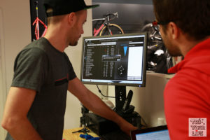 Bikefitting Behind the scene