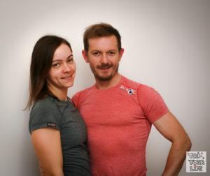 Scroc Sculit Shirts Katharina und Christian