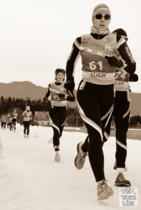 Wintertriathlon Crosslauf