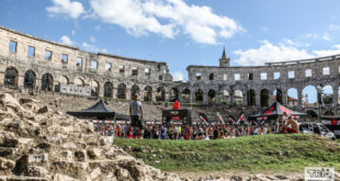 IRONMAN 70.3 Pula 2017 Finishline