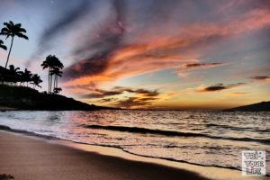 Napili Bay Sonnenuntergang