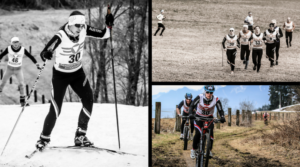 Wintertriathlon Collage