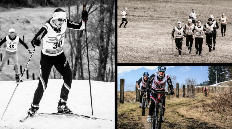 Wintertriathlon Collage