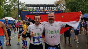 Florian Werner NY Marathon