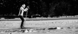 Wintertriathlon Skaten