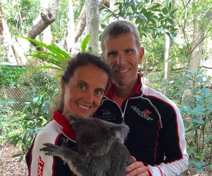 Eva und Tom Hackner Australien