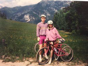 Evi und Tom Hackner in den 90er Jahren