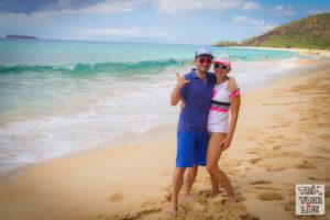 Kathi und Christian MAui