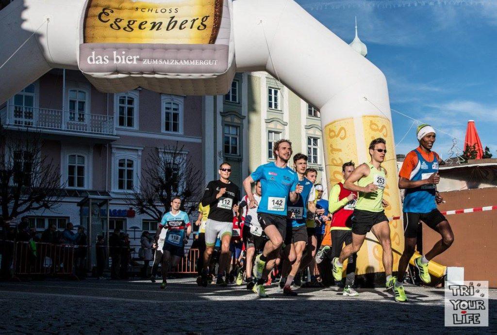 Silvesterlauf Gmunden 2017 Start