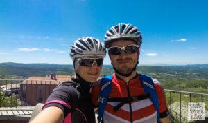 Rennrad Toskana Kathi und Christian