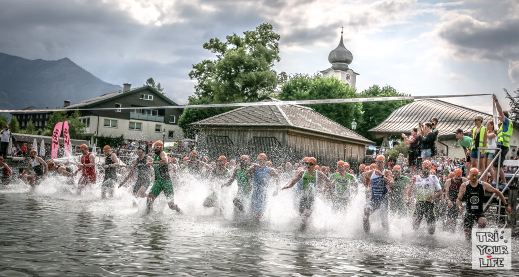 Schwimmstart Wolfgangsee Challenge 2018