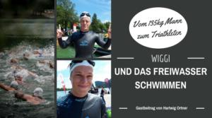 Wiggi und das Freiwasserschwimmen Titelbild