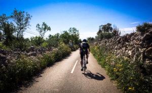 Road Cala Pi Mallorca