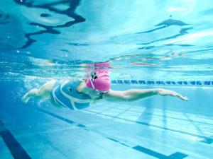 Kopfposition Schwimmen