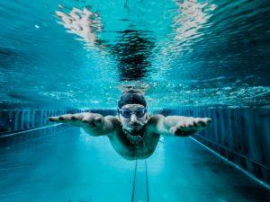 Lagen schwimmen
