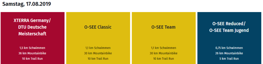 O-See Programm 17.08.2019