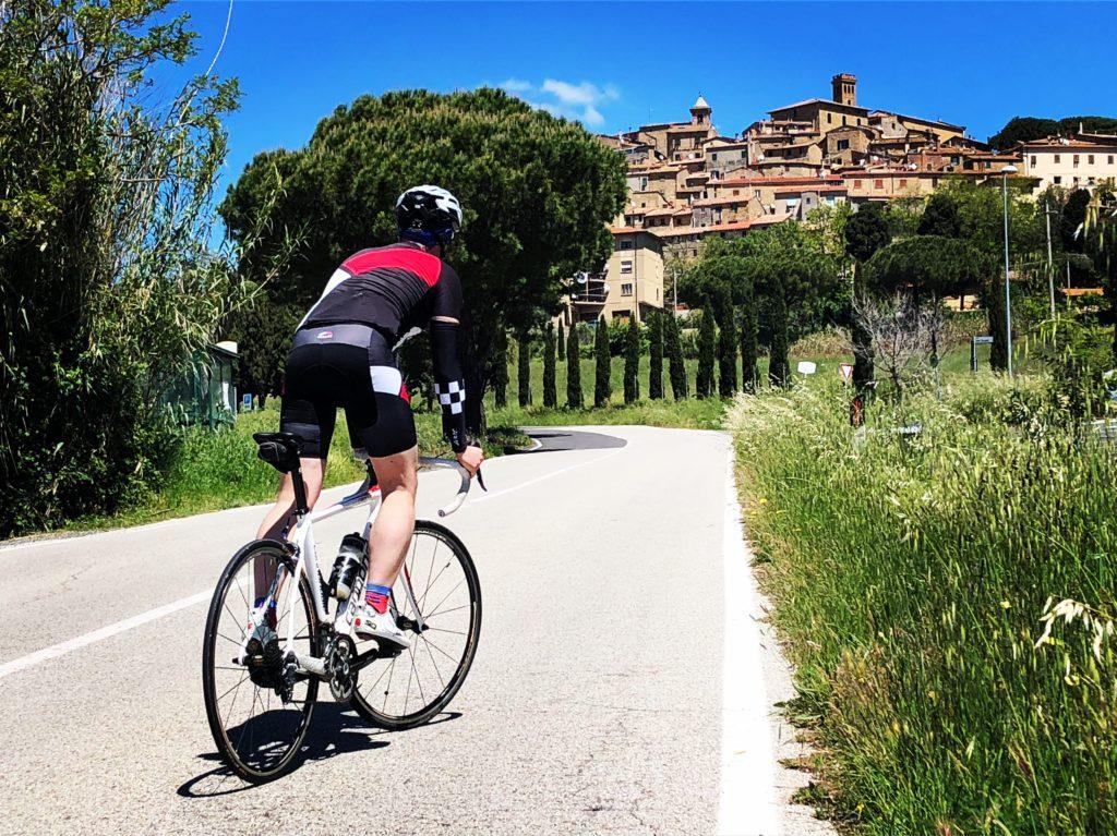 Toskana Rennradfahren