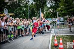 City Triathlon Wels 2019 Laufstrecke