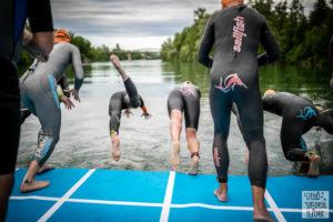 Schwimmpanton Start