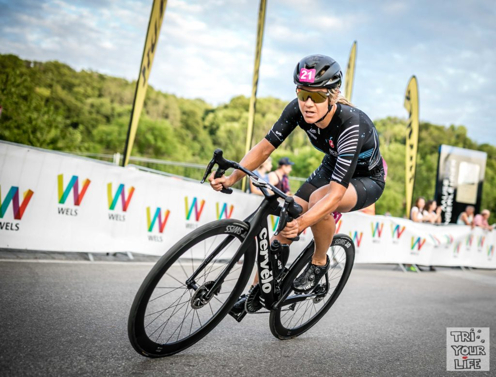City Triathlon Wels 2019 Radkurve