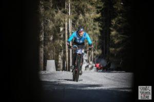 Christoph Schlagbauer Wintertriathlon Asiago 2019 Bike