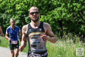 Christophe Sauseng Linztriathlon 2017 Laufen