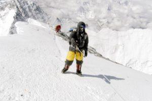 Helmut Linzbichler Everest 2008