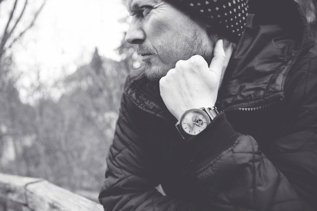 Christian mit der Holzkern Manhattan