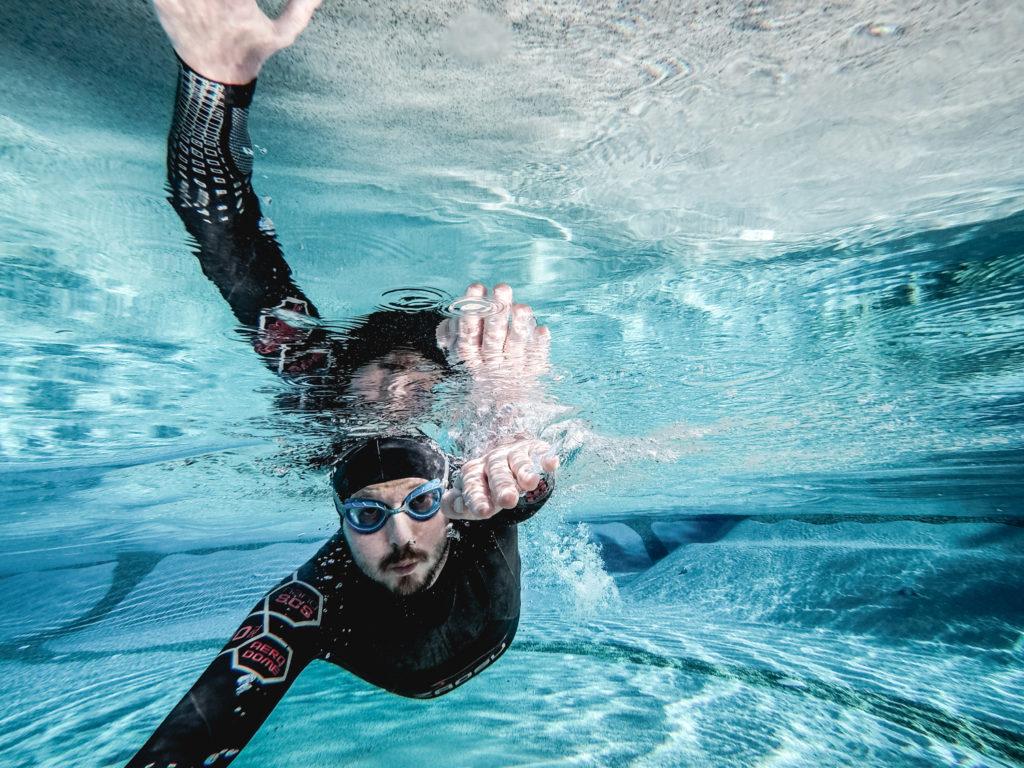 Neopren Schwimmkappe