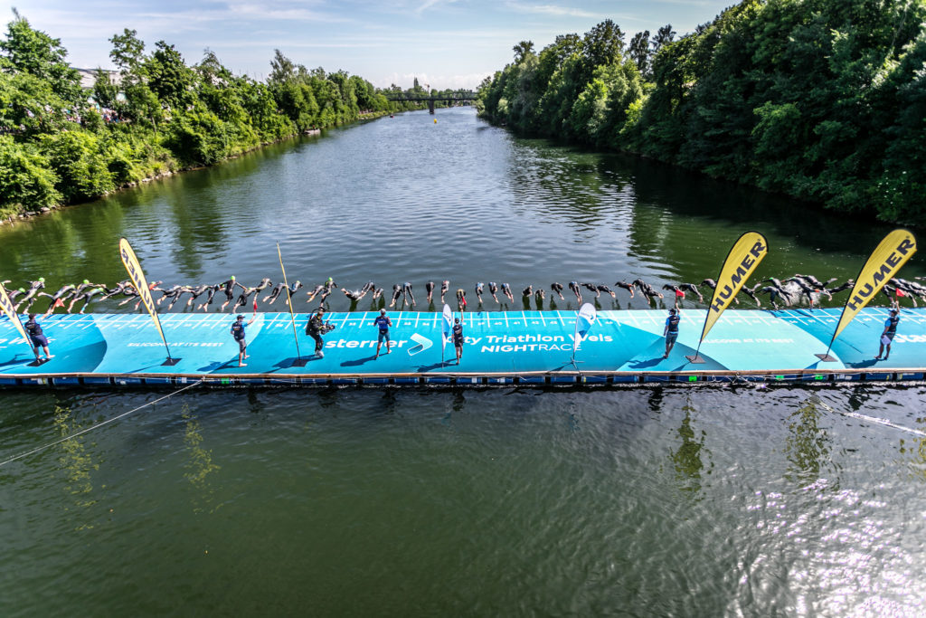 Wels Triathlon Silberholzsteg