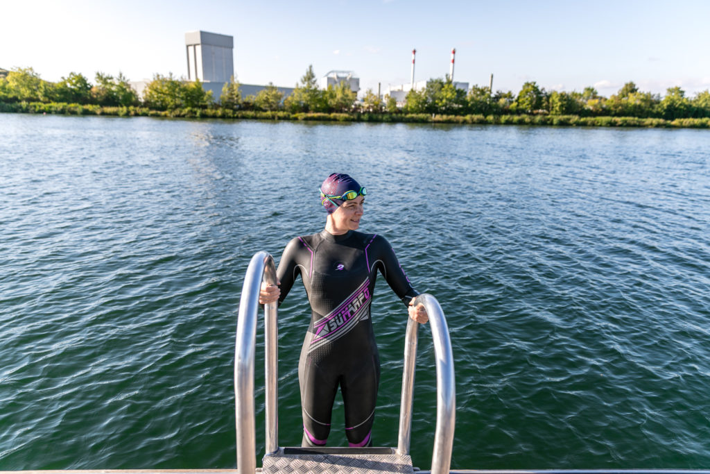 Sumarpo Neoprenanzug beim Schwimmen